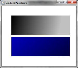 Gradient Paint Demo